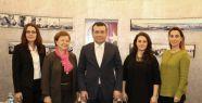 AB Türkiye Delegasyonundan Taşçı'ya Ziyaret