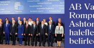 AB Van Rompuy ve Ashton'ın haleflerini belirledi