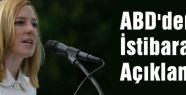 ABD'den İstibarat Açıklaması...