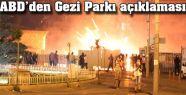 ABD'nin Gezi parkı Açıklaması...