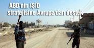 ABD'nin IŞİD stratejisine Avrupa'dan destek