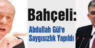 Abdullah Gül'e Saygısızlık Yapıldı
