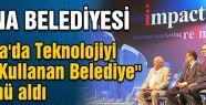 Adana Belediyesine Büyük Ödül....