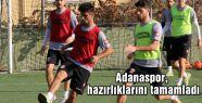 Adanaspor, hazırlıklarını tamamladı