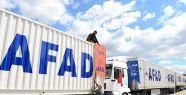 AFAD'dan Gazze'ye yardım...