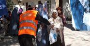 Afganistan'da 1200 aileye kurban eti dağıtıldı