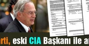 AK Parti, eski CIA Başkanı ile anlaştı mı?
