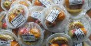 AK Parti Logosu  Meyve Tabaklarında