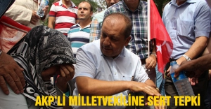 AK Partili vekilin sözleri şehit eşini ağlattı