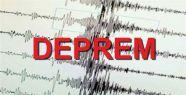 Akdeniz'de deprem oldu...