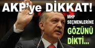 AKP, İstanbul'da MHP Seçmenlerine gözünü dikti...