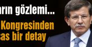 AKP Kongresinden bir detay