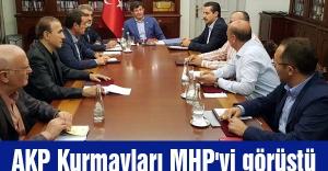 AKP Kurmayları MHP'yi görüştü