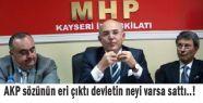 AKP sözünün eri çıktı !
