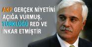 AKP Türklüğü red ve inkar etmiştir