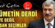 AKP VE CHP'NİN DERSİM İTTİFAKINI MHP BOZACAKTIR