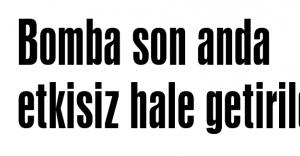 AKP'ye bombalı saldırı...