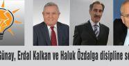 AKP'li 3 Vekil Disiplin Kurulunda...