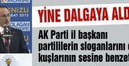 AKP'li Başkan'dan 'EBABİ'L benzetmesi