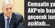 AKP'nin başına geçecek isim...