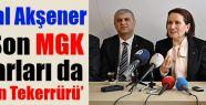 Akşener; Amasya'da konuştu