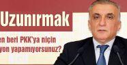 Ali Uzunırmak: PKK'ya hiç operasyon yapıldı mı?