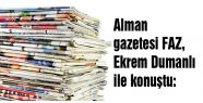 Alman gazetesi FAZ, Ekrem Dumanlı ile konuştu: