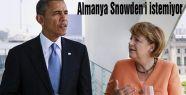 Almanya Snowden'i istemiyor