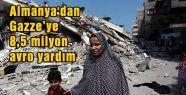 Almanya'dan Gazze'ye Yardım