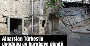 Alparslan Türkeş'in doğduğu ev harabeye döndü