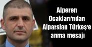 Alperen Ocakları'ndan Alparslan Türkeş'e anma