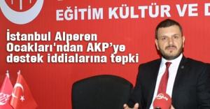 Alperenlerden AK Parti'ye destek iddialarına tepki