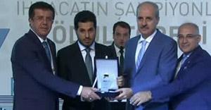 Altın şampiyonu Reza Zarrab'a ödül