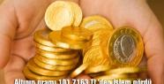 Altının gramı 101,7163 TL'den işlem gördü