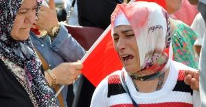 Amasya'da Asker annesinin feryadı