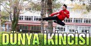 Amasya Üniversitesi öğrencisi  dünya ikincisi oldu