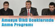 Amasya'da Ülkü Ocaklarından Anma Programı