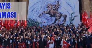 Anıtkabir'de 19 Mayıs kutlama töreni