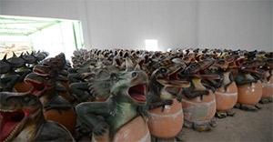 Ankapark'ın minik dinozor ordusu da görücüye çıktı