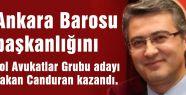 Ankara Baro Başkanı Belli Oldu...