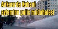 Ankara'daki eyleme polis müdahalesi