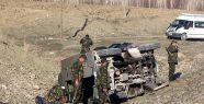 Askeri araç devrildi: 2 şehit