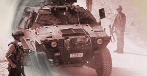 Askerlerin Nöbet değişimi esnasında bomba patlatıldı