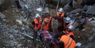 Ateşkesin ardından enkazdan 85 ceset çıkarıldı