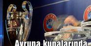 Avrupa kupalarında kura çekimi