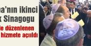 Avrupa'nın en büyük Sinagogu Edirne'de hizmete açıldı