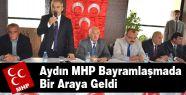 Aydın MHP'de Ülkücüler Bir Arada