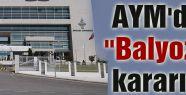 """AYM'den """"Balyoz"""" kararı"""