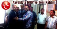 Ayvalık'ta MHP'ye katılım...