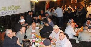 Bafra'da şehit ve gazi aileleri iftarda buluştu